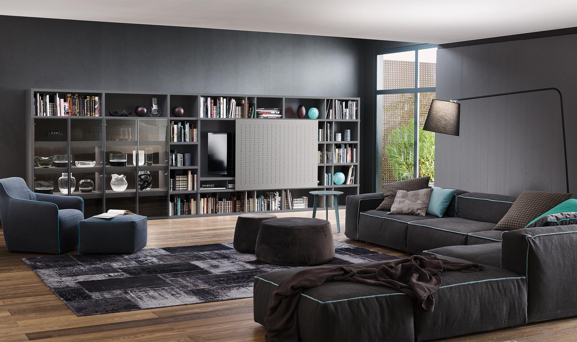 Alcune idee per il tuo living linea due arredamenti blog for Linea casa arredamenti